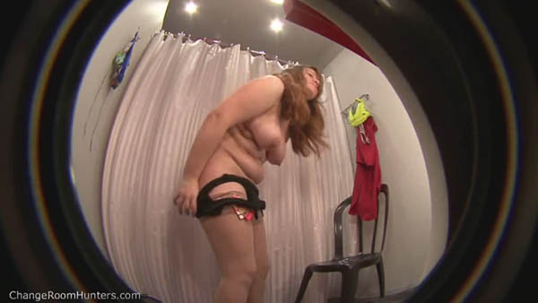 spy cam catching plump amateur 2
