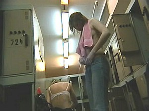 Lockerroom voyeur video camera 4